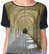 Fontevraud Abbey Colonnade Chiffon Top