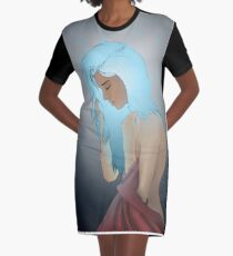 Hologram Graphic T-Shirt Dress
