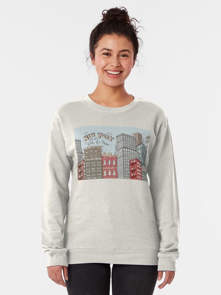 Alternate view of New York City Illustration Pullover Sweatshirt