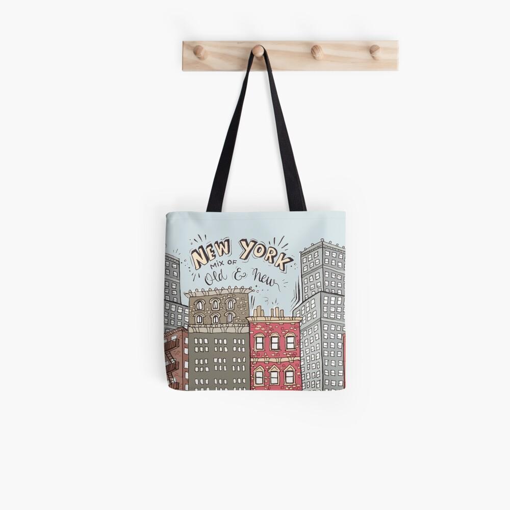 New York City Illustration Tote Bag