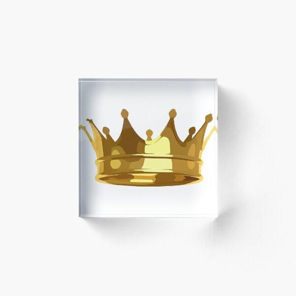 Crown Acrylic Block