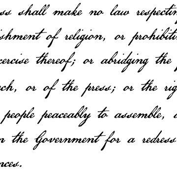 Primera Enmienda de cjackvony
