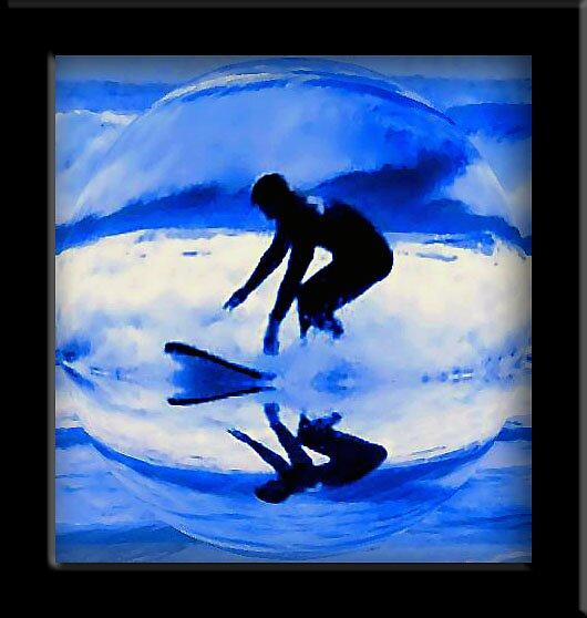 Surfing in Hawaii by kimbeaux1969