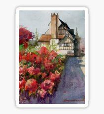 Castle Gates, Shrewsbury Sticker