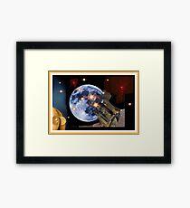 Shoot The Moon ! Framed Print