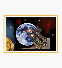 Shoot The Moon ! Photographic Print