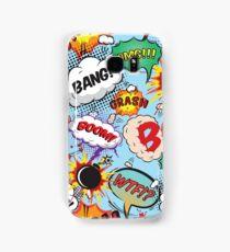 Comic Strip Superhero Design Samsung Galaxy Case/Skin