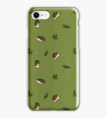Hedgehog Garden Pals!  iPhone Case/Skin