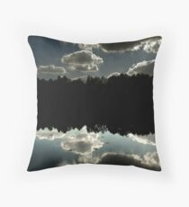 Tilgate Lake Reflex Throw Pillow
