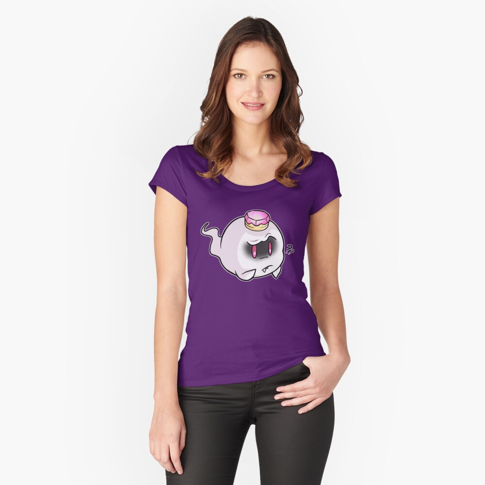 King Boo Women's Fitted Scoop T-Shirt Front
