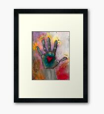 Passionate Proof Framed Print
