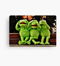 Muppets Canvas Print