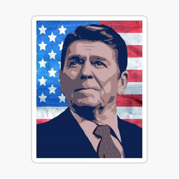 Reagan Sticker