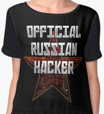 Official Russian Hacker Chiffon Top