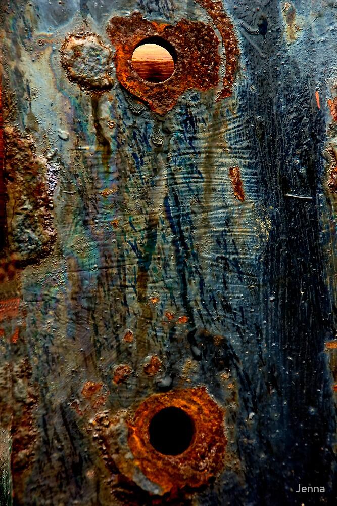 Blue Metal by Jenna