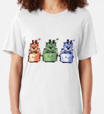 TRI FARBE LOKOMOTIVE Slim Fit T-Shirt