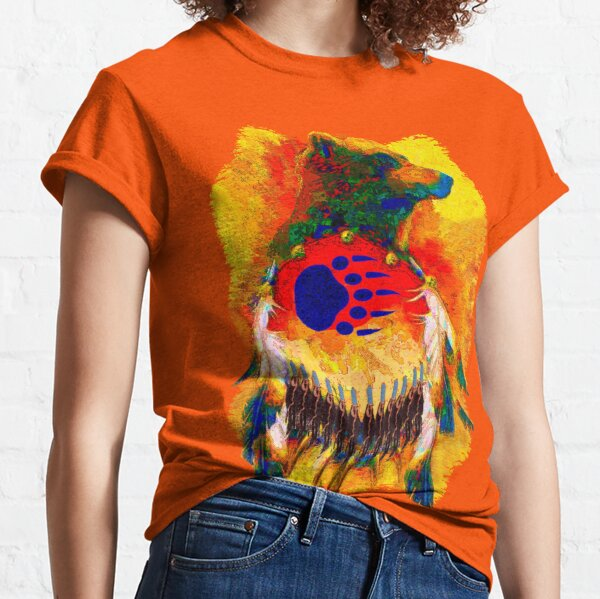 Bear Warrior Native American T-shirt Classic T-Shirt