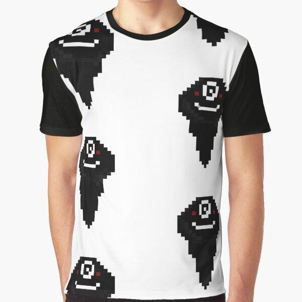 Désert noir en ligne, Black Spirit Pixel T-shirt graphique