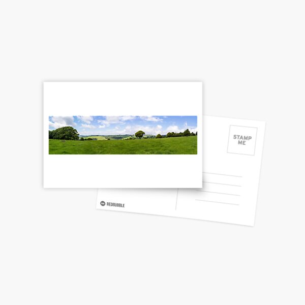 Green Fields Postcard