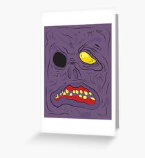 Necronomicon - Evil Dead Greeting Card