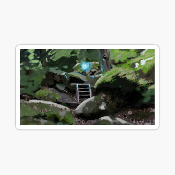 Fairy in the wood Sticker