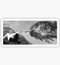 Michelangelo Foucault  Sticker
