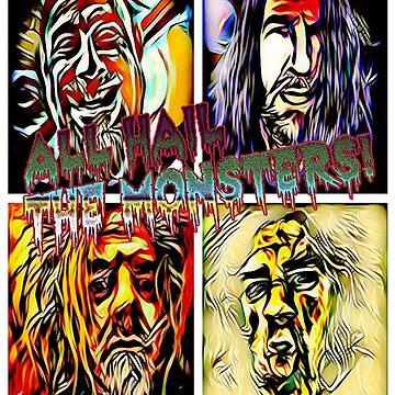 AHTM! Four Handsome Devils by harveythekiller