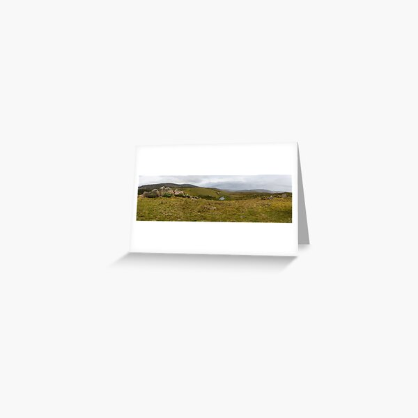 Snowy Mountains High Country Greeting Card