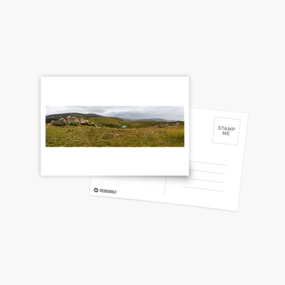 Snowy Mountains High Country Postcard