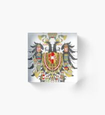 Austria-Hungary Acrylic Block