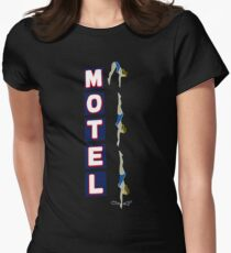 Motel Sign Women's Fitted T-Shirt
