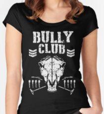 Store Horsemen Bully Club Women's Fitted Scoop T-Shirt