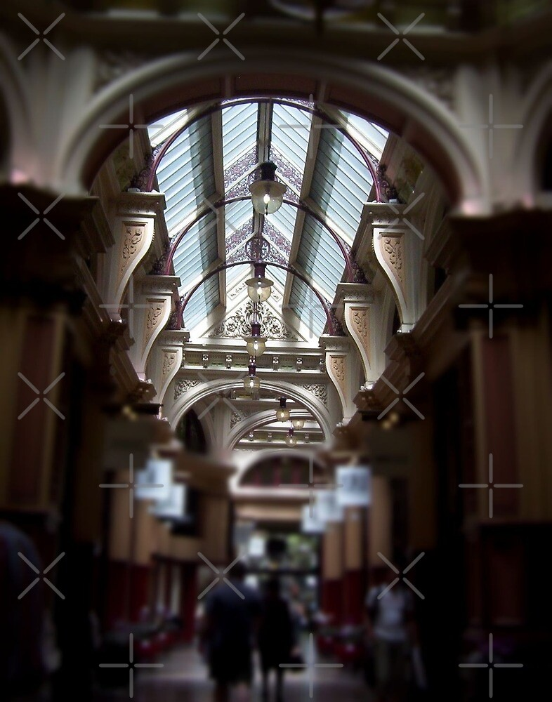 Melbourne Arcades by Linda Bianic