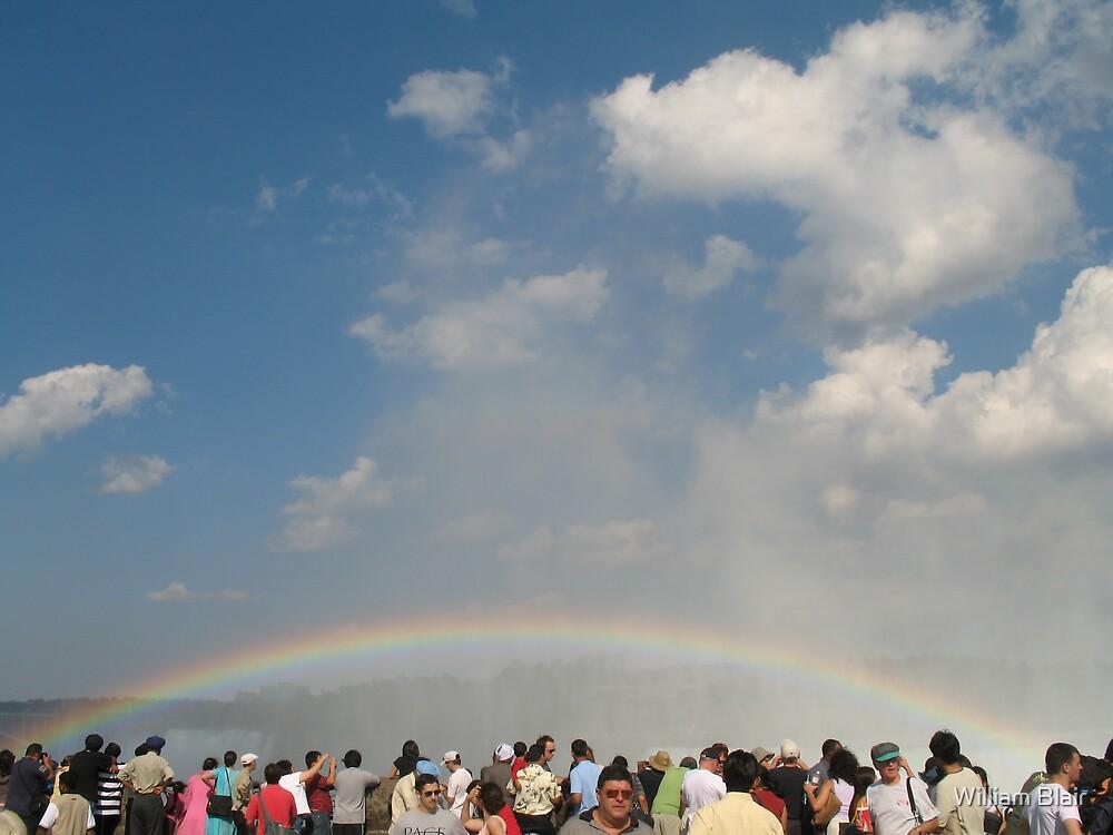 Rainbow Over Head by William Blair