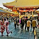 Smile at Asakusa by haymelter