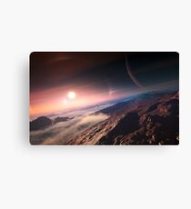 Exoplanet Artist's Impression Canvas Print