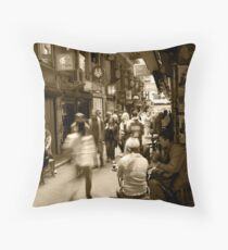 Laneway Life Throw Pillow