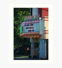 Maumee Movie Theater II Art Print