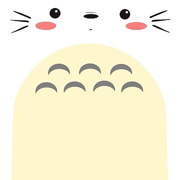 Totoro Art by genolarva