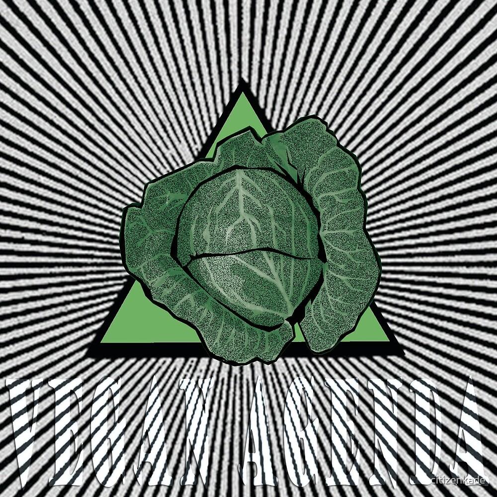 Vegan Agenda: All-Seeing Cabbage by citizenkade
