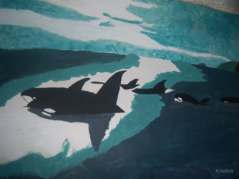 whales-art by Kristina