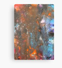 Alchemy of the soul 11.11.15 35cm x 45cm Inactive rust Canvas Print