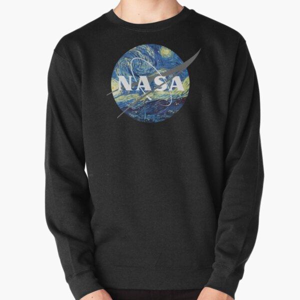Nasa Logo Van Gogh  Pullover Sweatshirt