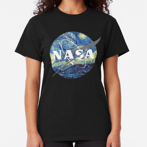 Nasa Logo Van Gogh  Classic T-Shirt