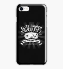 Elite Gamer University iPhone Case/Skin