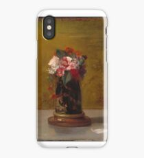 Vase of Flowers John La Farge (American iPhone Case/Skin
