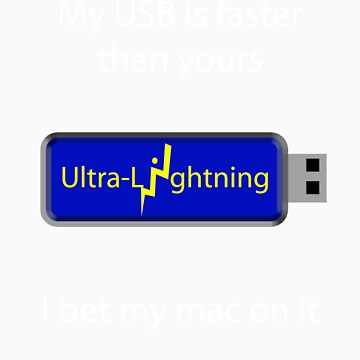 My USB is faster (black) by tman