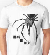 Camiseta unisex Espera allí vet.text
