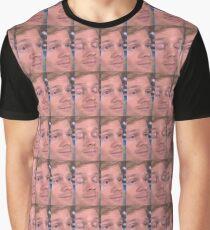 White Guy Blinking Meme Graphic T-Shirt