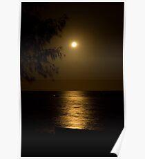 Sandgate Moonlight Poster